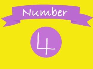 Number 4 by Lisa Fryer