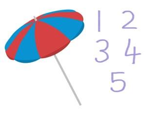 Number Game 1-5 by Sarah Thomas