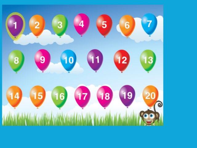 Number Order 1-20 by Deborah Fletcher
