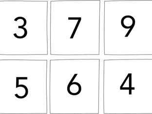 Number Recognition by Angie Hantz
