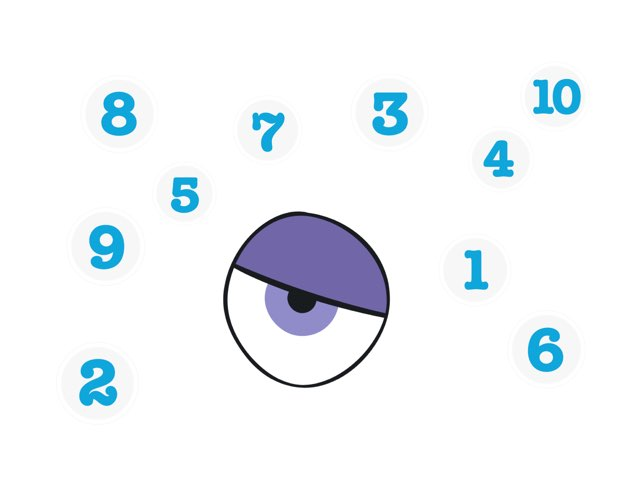 Number Tap 1-10 by Richard Kerr