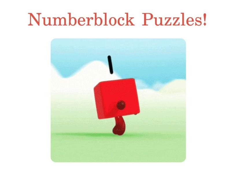Numberblocks Puzzles by Brenda Badillo
