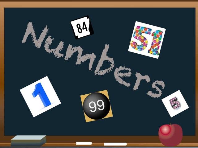 Numbers 1 to 100 by Sarah Hani Sulaqa