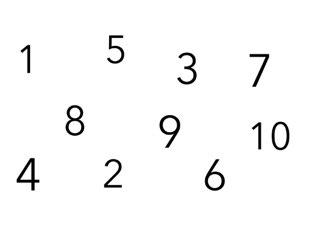 Numbers 1-10 by Gecko SKPS