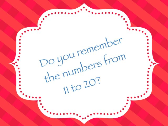 Numbers 11-20 by Anna de Wit
