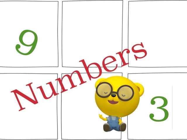 Numbers 1-20 by Peter Johansen