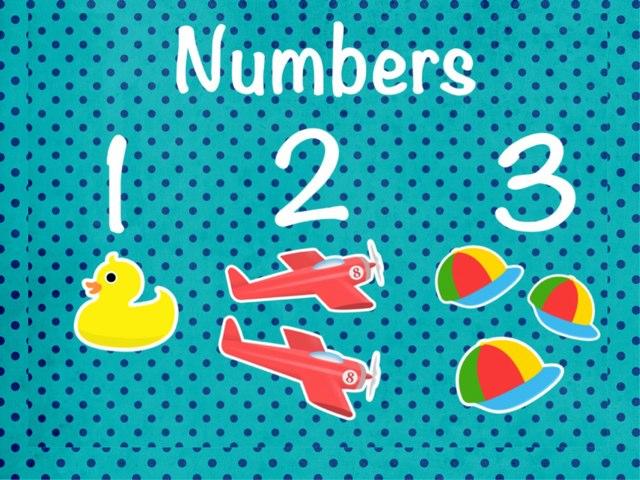Numbers 123 by Ana Vivanco