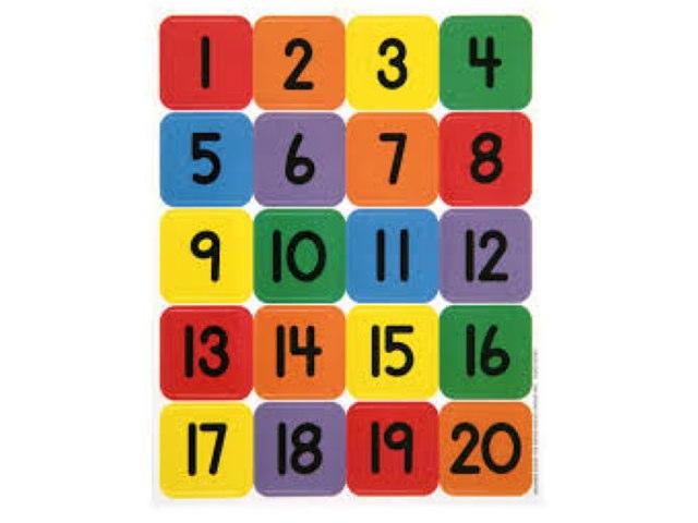 Numbers Game by Barbi Bujtas