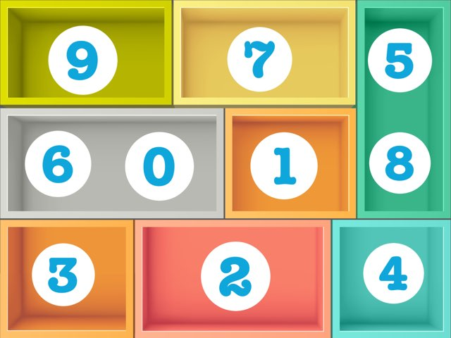 Numbers In Boxes (SB) by Maureen Nevers