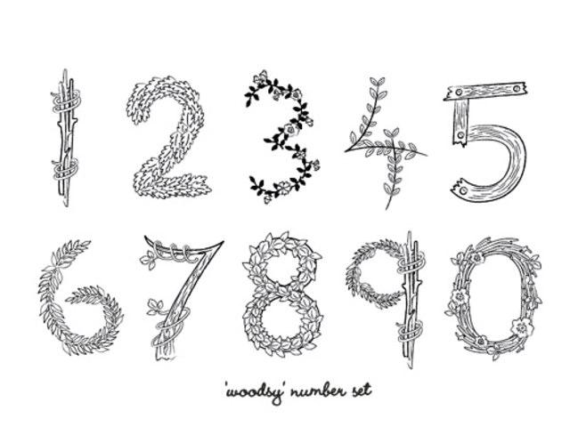 Numbers :) by Maria Grunske