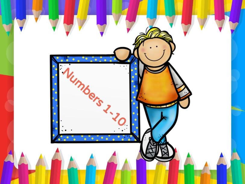 Numbers 1-10 by Samah Mashali