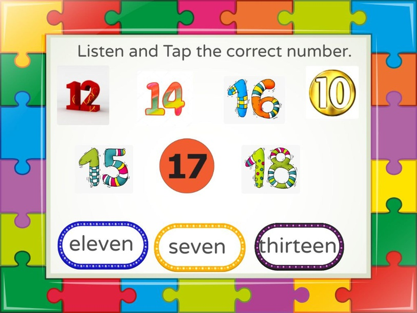 Numbers 11 to 20 by Richard Llorca