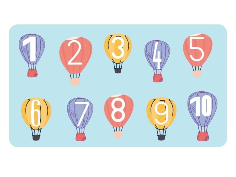 Numbers 1 to 10 by Lauren Hamilton Saez