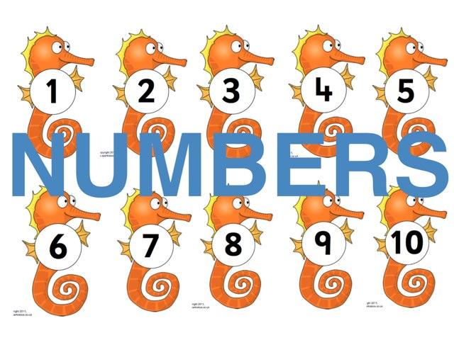 Numbers by Kathie Ginman