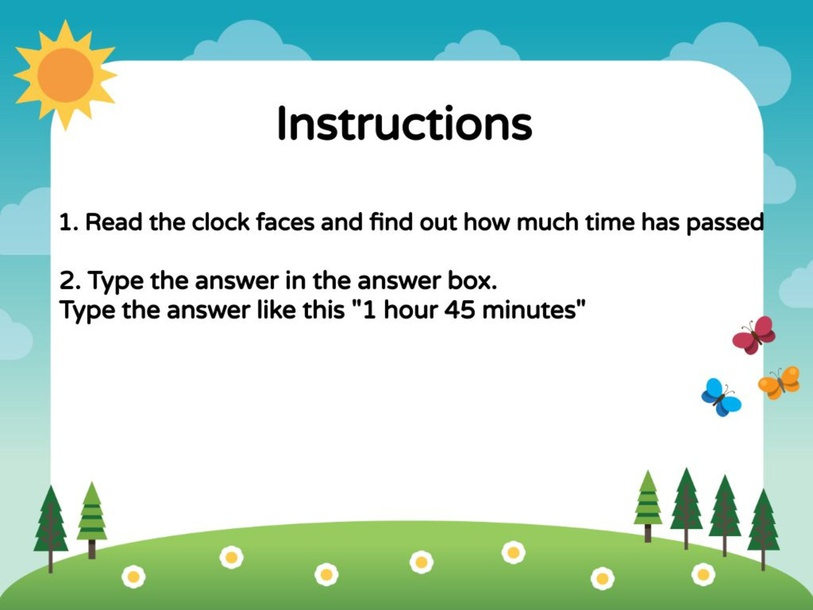 Numeracy - Duration to 5 minutes by metta epp