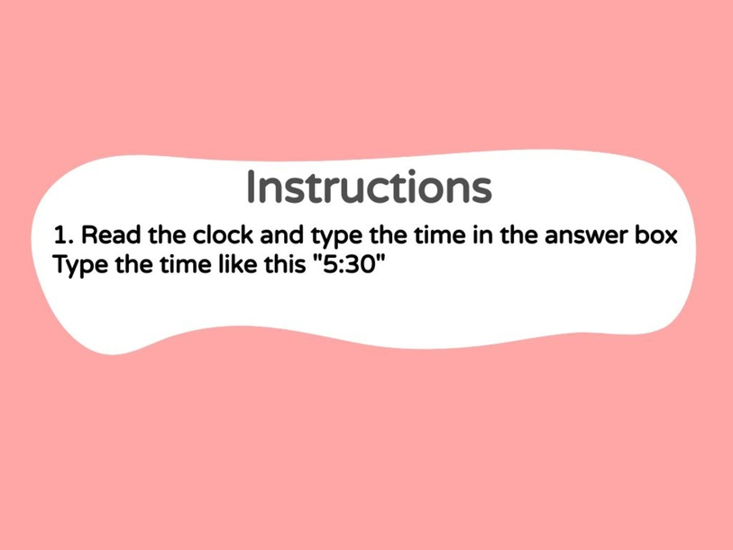 Numeracy - Telling time to 5 minutes  by metta epp