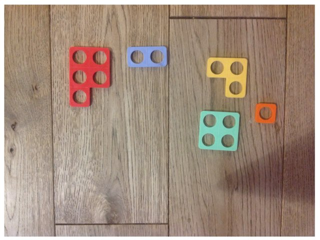 Numicon 1 More/less by Emma tomkow