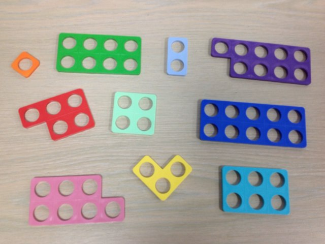 Numicon Game EYFS by Alaine Sanders
