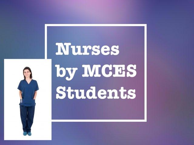 Nurses by MCES by Christine Snow