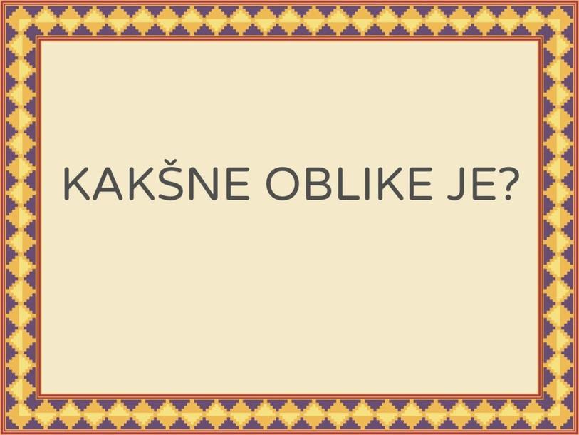 OBLIKE by Tanja Metez Omerzel