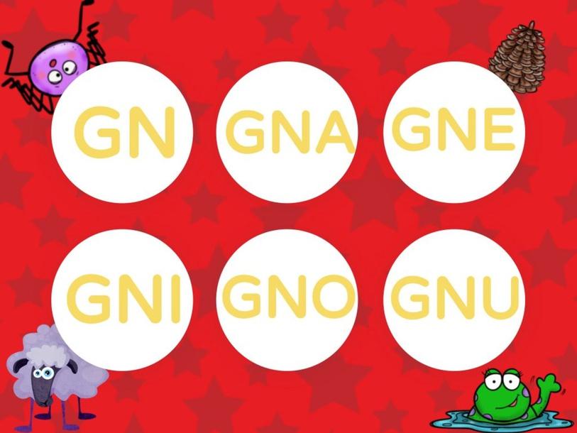 ORTOGRAFIA: GNA GNE GNI GNO GNU by LAURA PULLARA