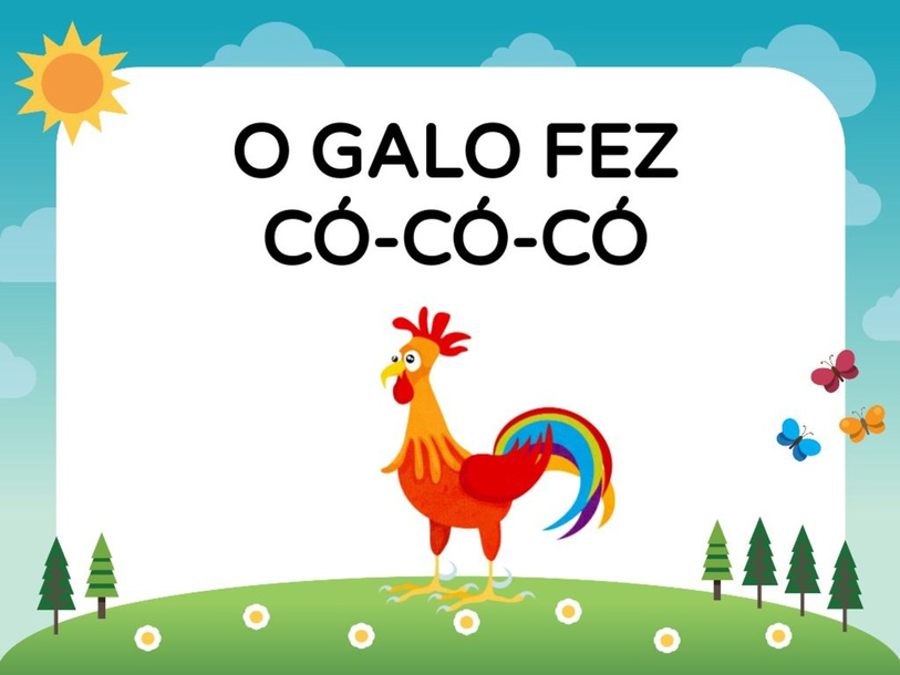 O GALO FEZ CÓ - CÓ - CÓ by Tobrincando Ufrj
