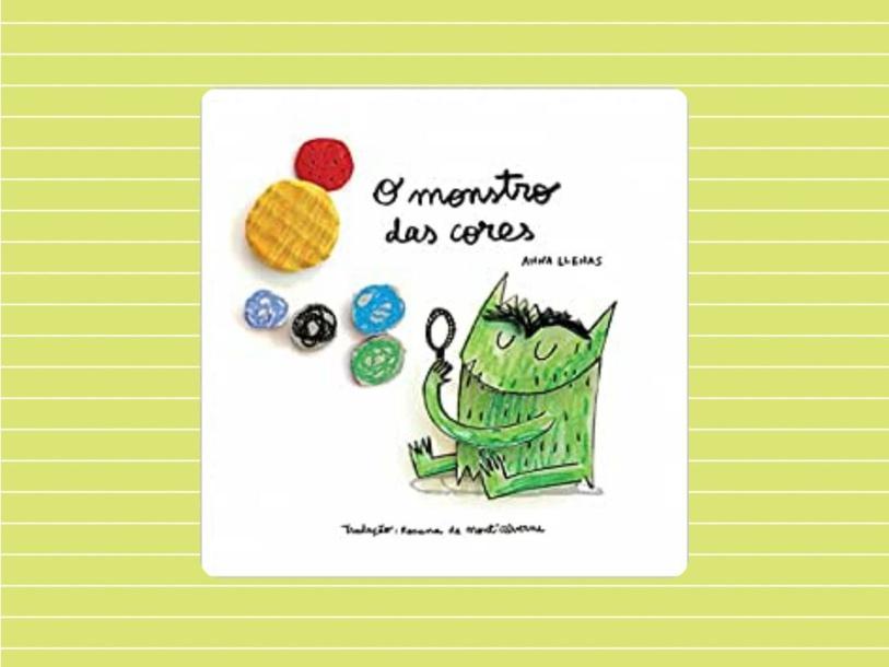 O MONSTRO DAS CORES by Gabriela Walendzus