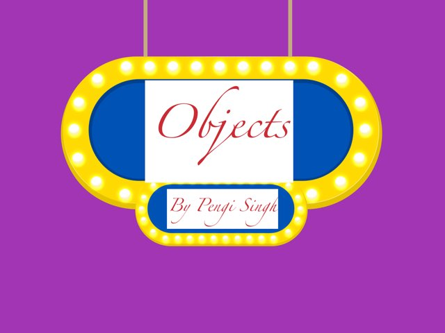 Objects by Aaina mohapatra