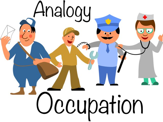 Occupation Analogy by Madonna Nilsen