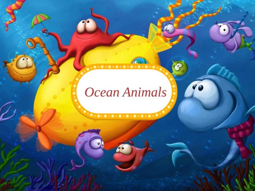 Ocean animals game by juhaina allahoori