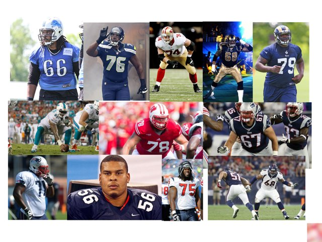 Offensive Line by Gavi Wald
