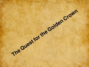 Oil & Georgia Quest For The Golden Crown  by Mr Parkinson