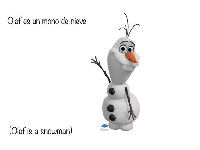 Olaf In Spanish by Natalie Kutscher