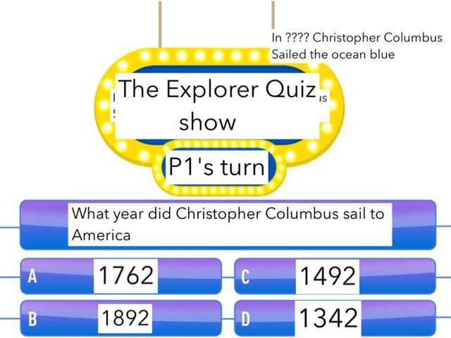 Old Explorers Quiz by Drew Neilson