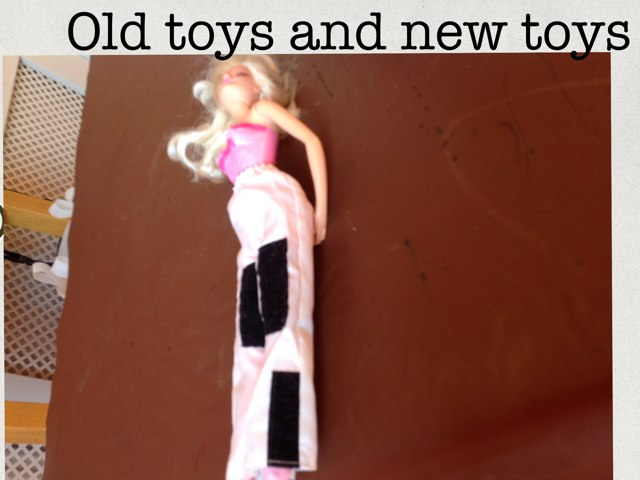 Old Toys And New Toys by Tracy Miller