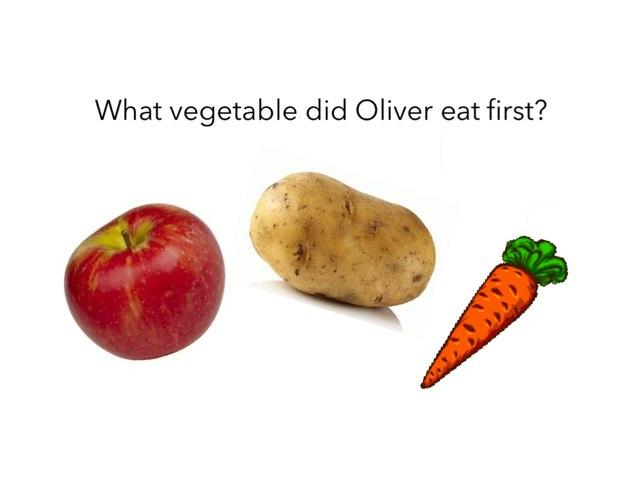 Oliver's Vegetables by Jane Langdale