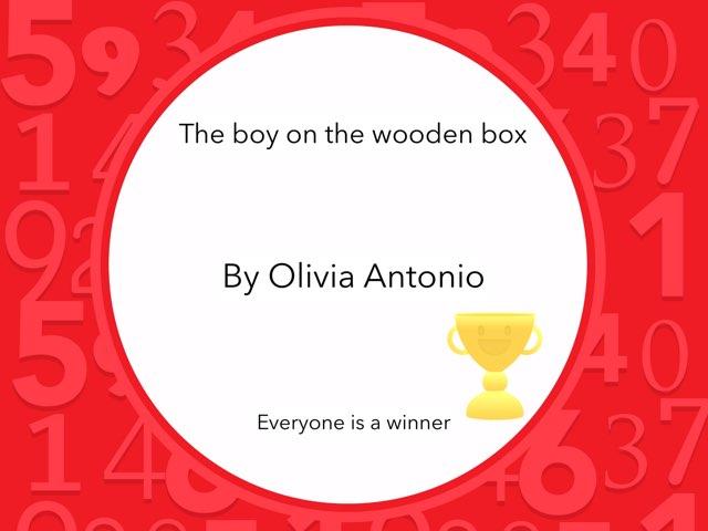 Olivia Antonio's Reading Quiz by Year Six