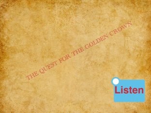 Ollie And Ethan -Quest For The Golden Crown by Mr Parkinson