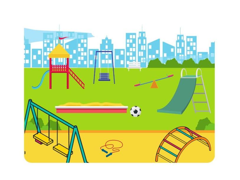 On the Playground by Lauren Hamilton Saez