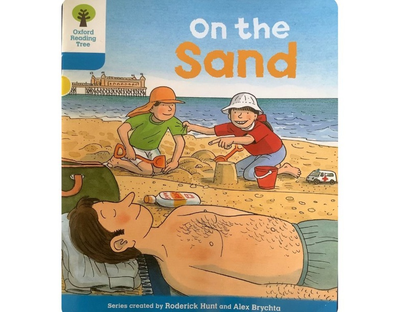 On the sand Day 1 by Natalie Penrice