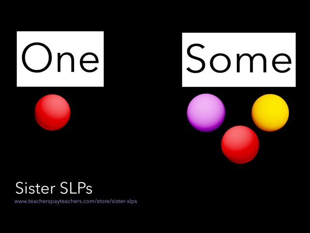 One/Some: Sister SLPs by Becky Price