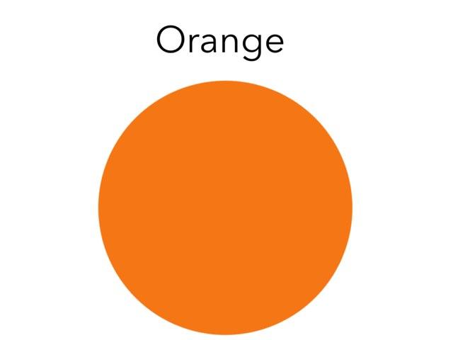 Orange And Black by Julie Gittoes-Henry
