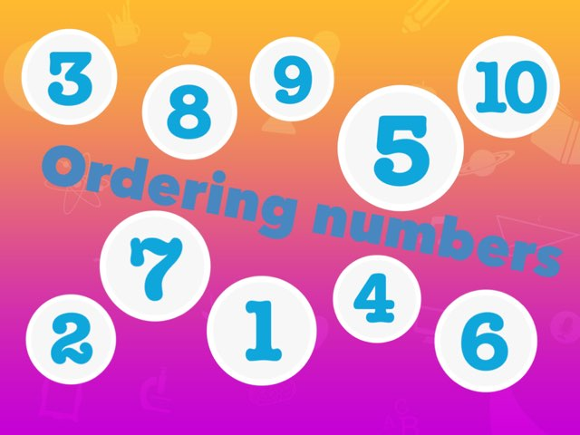Ordering Numbers by Ashleigh Chisholm