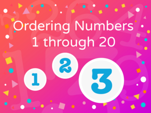 Ordering Numbers 1 through 20 L&C by Glodalis Espinosa-Santana