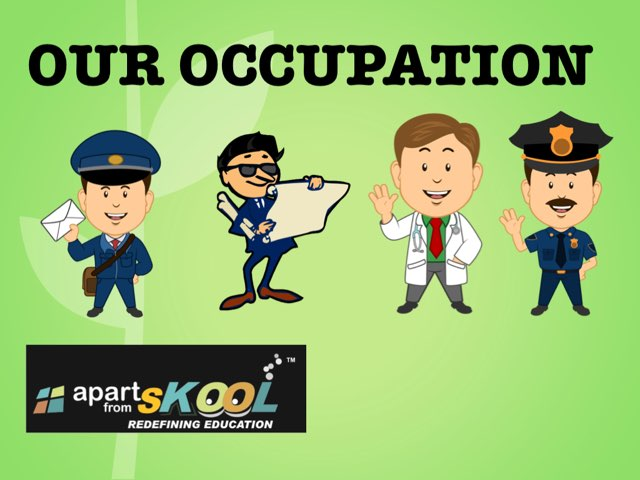 Our Occupation by TinyTap creator