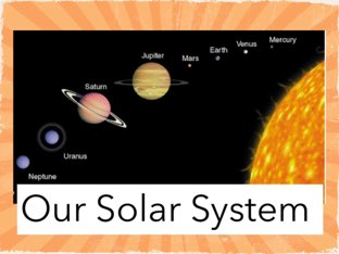 Our Solar System by Sister gatling