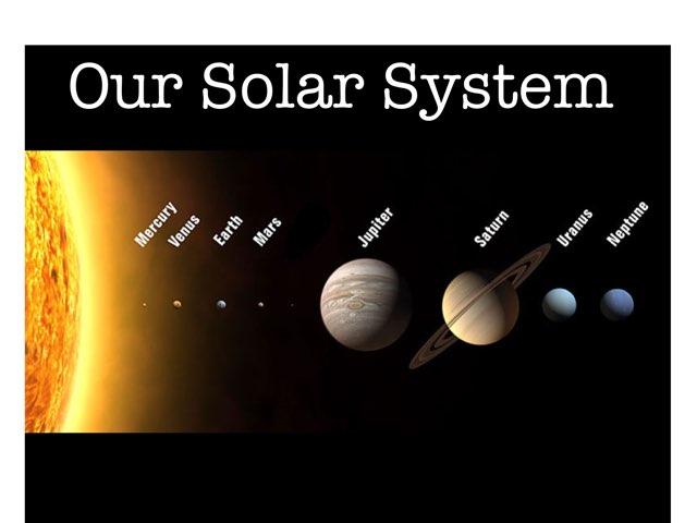 Our Solar System by Dara Nadine