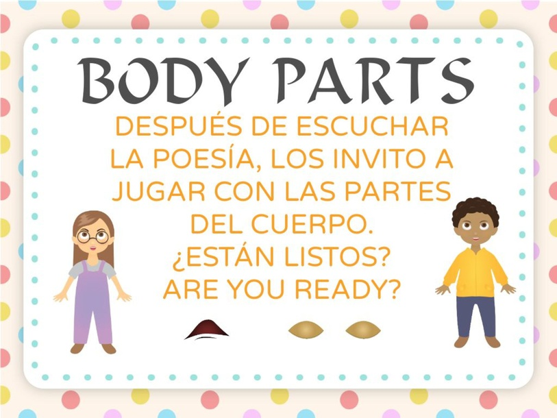 PARTS OF THE BODY  by ayelen ramos