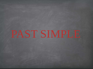 PAST SIMPLE by Latifah Muhammad