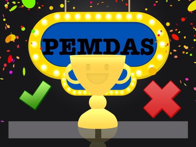 PEMDAS by Nicole Mendonca